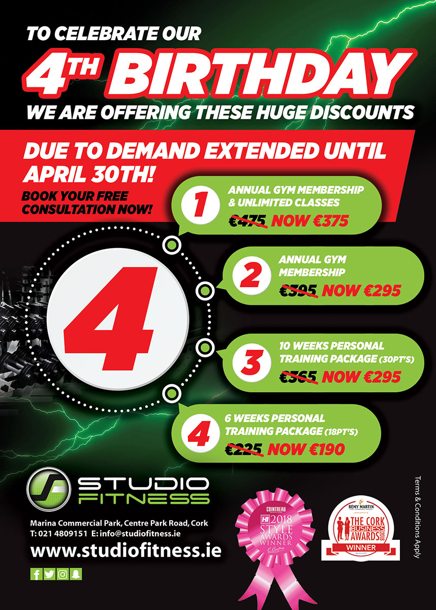 534854e5df Studio Fitness - Gym - Fitness Studio - Personal Training - Cork